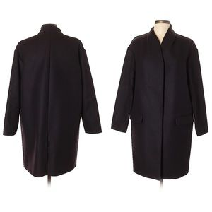 $398 NWOT COS Wool Oversized Coat Stand Collar